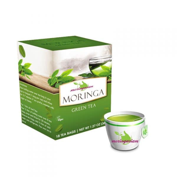 The vert au Moringa