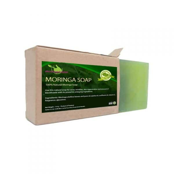 Moringa soap with box