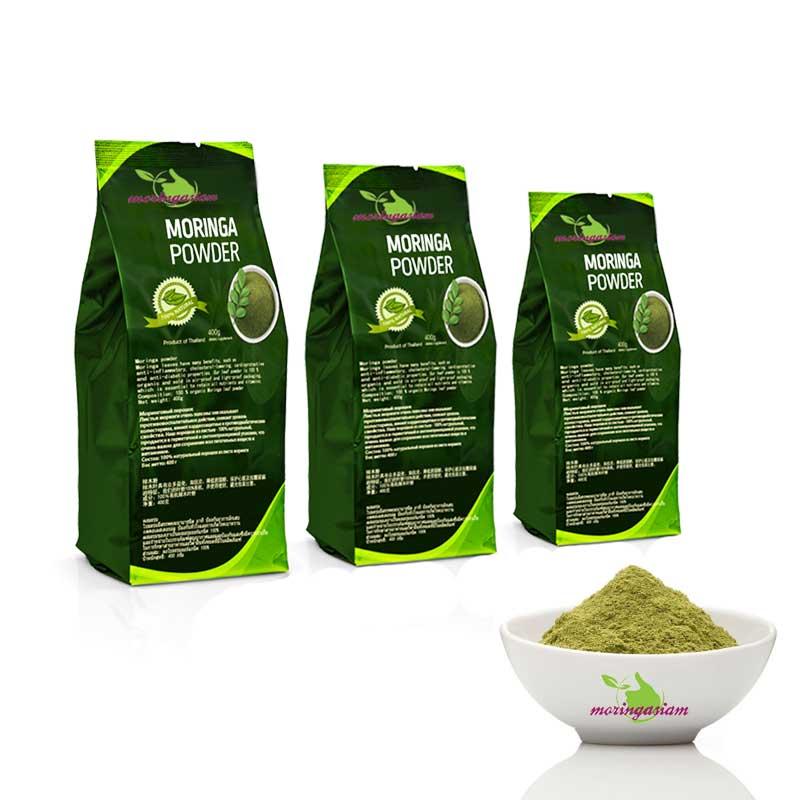 how to drink moringa powder