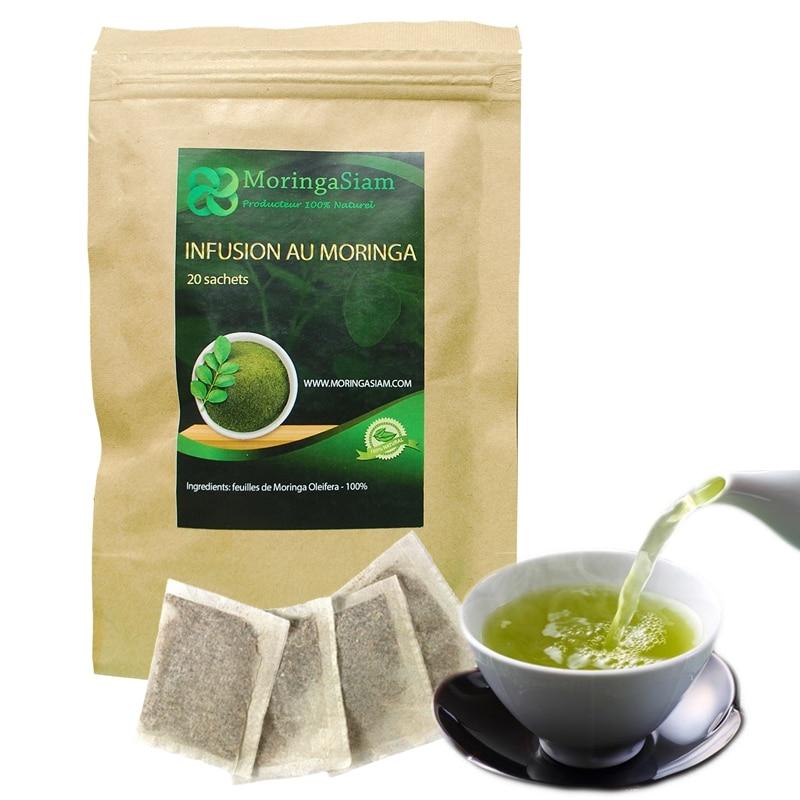 Green Tea and Moringa mix