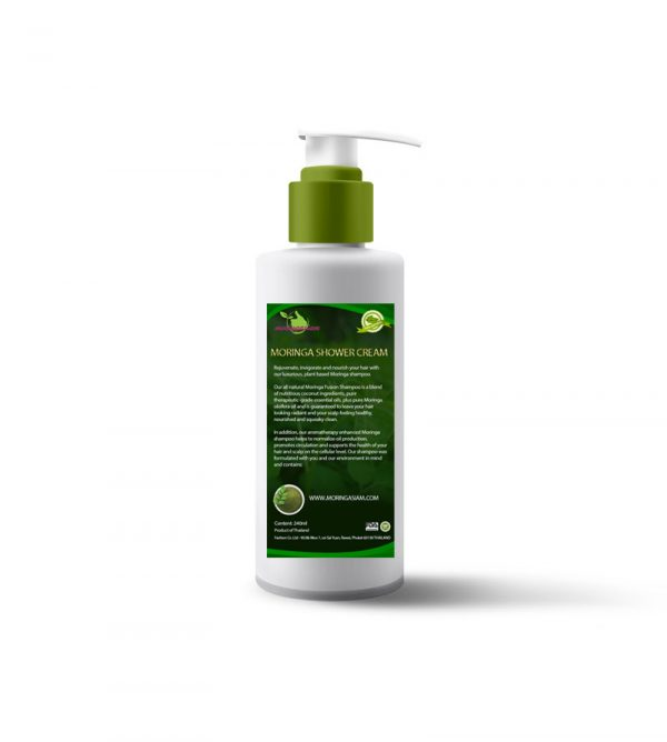 moringa shower cream