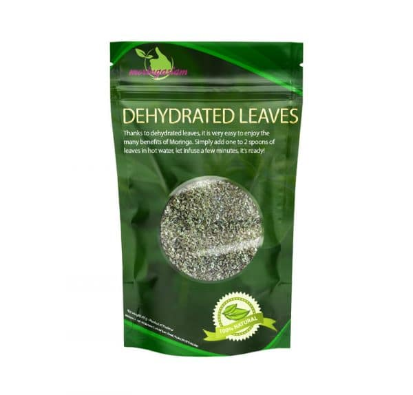 moringa dehydrated leaves